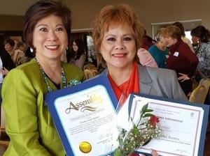 Rozzana and Norma Ramos, Christian  Help Center - Ruby AWard (4)